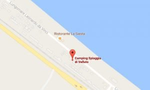 Camping a Senigallia Mappa Camping