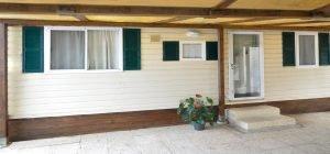 Casa mobile 4 camping spiaggia di velluto