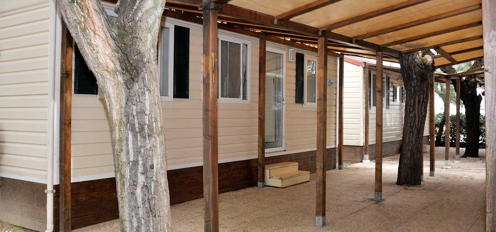 Casa mobile 1 camping spiaggia di velluto