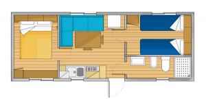 Piantina Casa Mobile