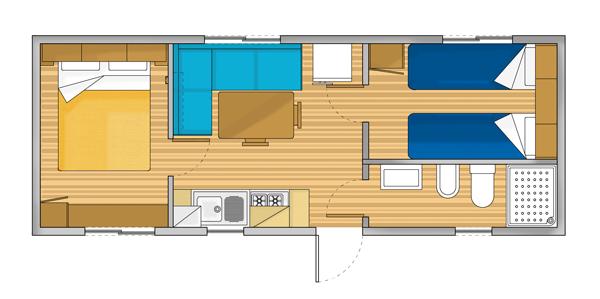 Pianta interni Casa Mobile