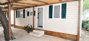 Camping con bungalow - Casa Mobile 12