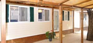 Camping con bungalow - Casa Mobile 8